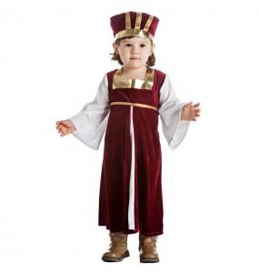 Disfraz de Dama Medieval para bebé