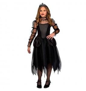 Disfraz de Damisela gótica para niña