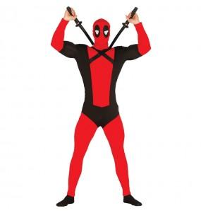 Disfraz de Deadpool barato para hombre
