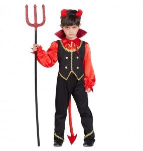Disfraz de Demonio Averno para niño