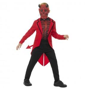 Disfraz de Demonio Día de los muertos para niño