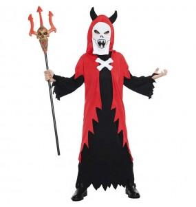 Disfraz de Demonio fantasma para niño