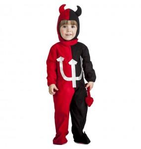 Disfraz de Demonio tridente para niño