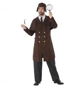 Disfraz de Detective Sherlock Holmes para hombre