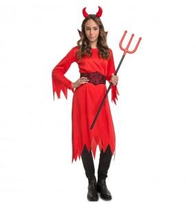 Disfraz de Diabla de los Infiernos para niña