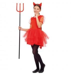Disfraz de Diabla tutú para niña