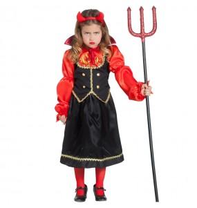 Disfraz de Diablesa Infernal para niña