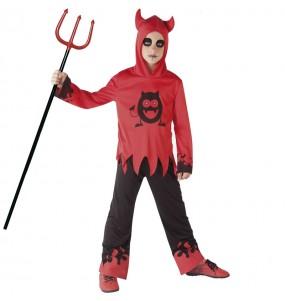 Disfraz de Diablo con ojos móviles para niño