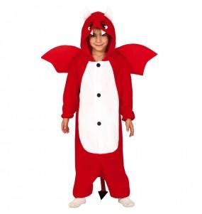 Disfraz de Diablo Kigurumi para niño