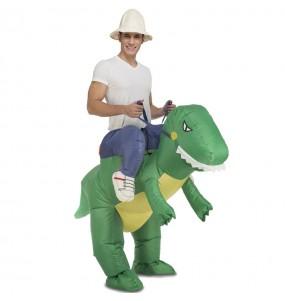Disfraz de Dinosaurio a hombros hinchable