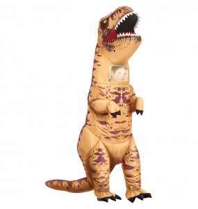 Disfraz de Tiranosaurio T-Rex hinchable para adulto
