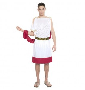 Disfraz de Senador Romano Rojo
