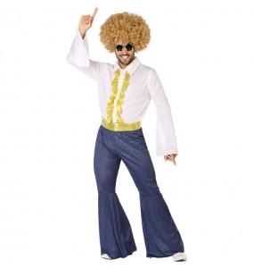 Disfraz de Disco Fiebre Sábado Noche para hombre