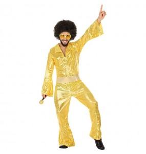 Disfraz de Disco Oro para hombre