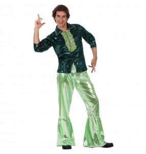 Disfraz de Disco Verde