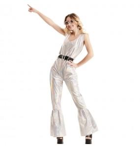 Disfraz de ABBA Pop Star mujer
