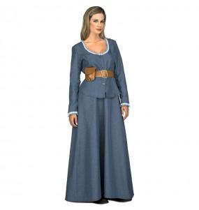 Disfraz de Dolores Abarnethy de Westworld para mujer