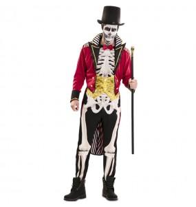 Disfraz de Domador Esqueleto para hombre