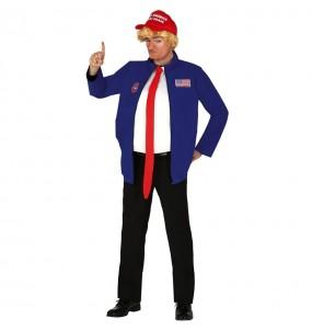 Disfraz de Donald Trump para hombre