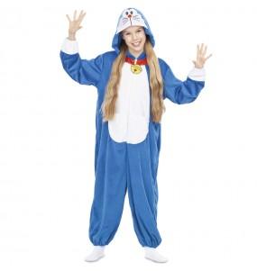 Disfraz de Doraemon para niña
