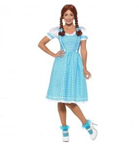 Disfraz de Dorothy Mago de Oz para mujer