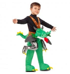 Disfraz de Dragón a hombros para niño