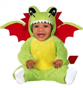 Disfraz de Dragón con alas para bebé