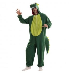Disfraz de Dragón Verde para hombre