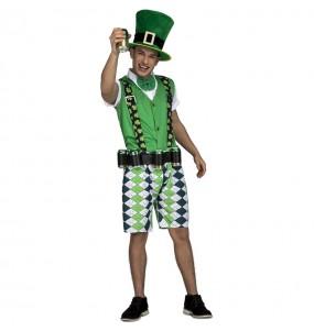 Disfraz de Duende Leprechaun para adulto