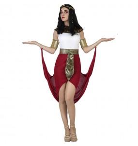 Disfraz de Egipcia Capa Roja