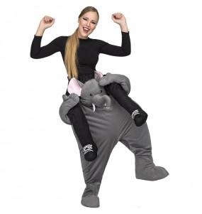 Disfraz de Elefante ride on para adulto