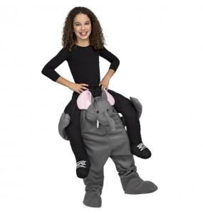 Disfraz de Elefante a hombros infantil