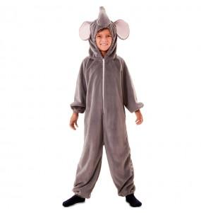 Disfraz de Elefante Peluche para niños