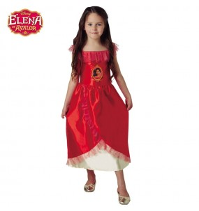 Disfraz de Elena Avalor para niña