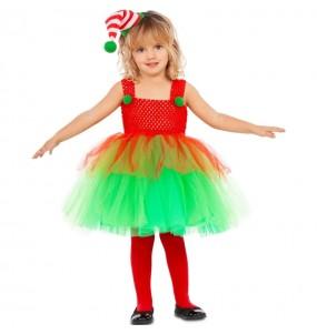 Disfraz de Elfa con tutú para niña