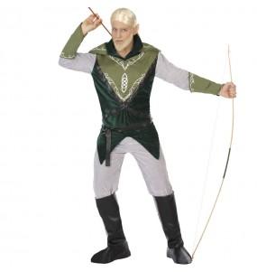 Disfraz de Elfo arquero para hombre