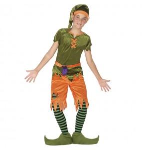 Disfraz de Elfo del bosque para niño