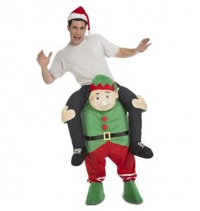Disfraz de Elfo Navidad a hombros adulto