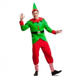 Disfraz de Elfo Navidad Adulto