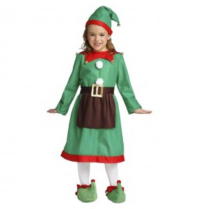 Disfraz de Elfo para niña