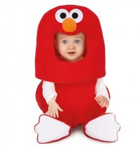 Disfraz de Elmo Barrio Sésamo para bebé balloon