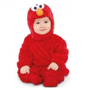 Disfraz de Elmo Barrio Sésamo para bebé