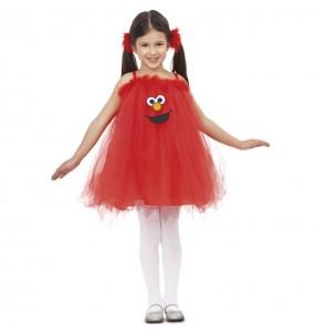 Disfraz de Elmo con Tutú para niña