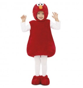 Disfraz de Elmo Peluche de niño
