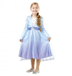 Disfraz de Elsa Frozen 2 Classic para niña