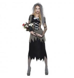 Disfraz de Emily la novia cadáver para mujer