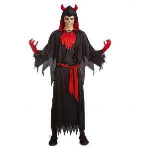 Disfraz de Emperador infernal para hombre