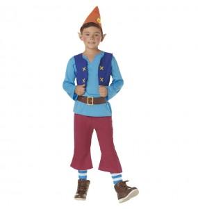 Disfraz de Duende azul para niña