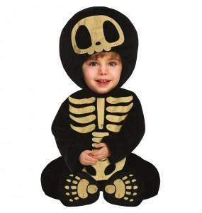 Disfraz de Esqueleto Skull para bebé