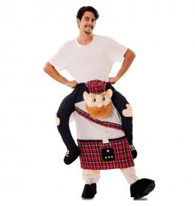 Disfraz de Escocés a hombros adulto